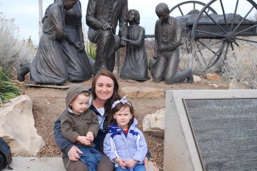Duncan, Gma Tanya, & Olivia